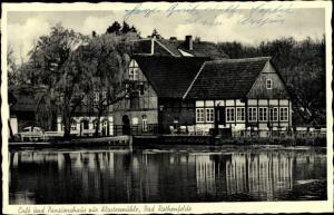 Ak Bad Rothenfelde am Teutoburger Wald, Cafe und Pensionshaus zur Klostermühle