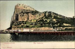 Ak Gibraltar, The Galleries, Rock