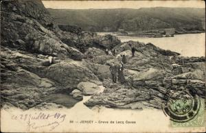 Ak Kanalinsel Jersey, Greve de Lecq Caves