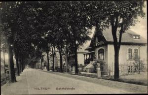 Ak Hiltrup Münster, Bahnhofstraße