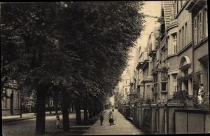 Ak Oberkassel Düsseldorf am Rhein, Düsseldorfer Straße
