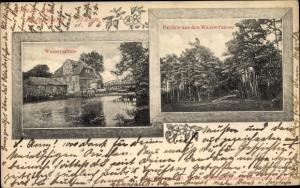 Ak Rotenburg an der Wümme, Wassermühle, Partie aus den Wasserfuhren