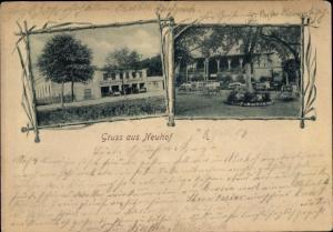 Ak Neuhof Ostseebad Heringsdorf auf Usedom, Gasthaus Sommerlust
