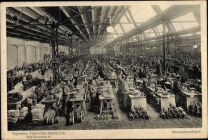 Ak Berlin Moabit, AEG Maschinenfabrik, Kleinmotorenfabrik