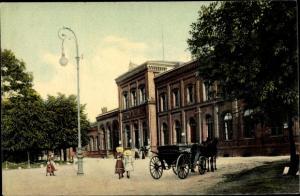 Ak Leipzig, Stadtpartie, Kutsche