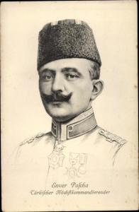 Ak Enver Pascha, Türkischer Höchstkommandierender