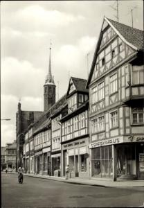 Ak Salzwedel in der Altmark, Burgstraße