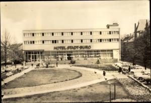 Ak Burg bei Magdeburg, Hotel Stadt Burg