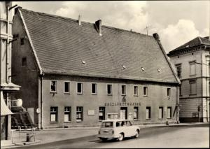 Ak Staßfurt Sachsen Anhalt, Salzlandtheater