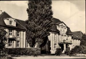 Ak Staßfurt Sachsen Anhalt, Lehrerbildungsinstitut