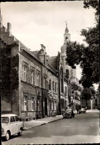 Ak Genthin am Elbe Havel Kanal, Rathaus