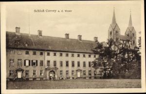Ak Höxter in Nordrhein Westfalen, Schloss Corvey