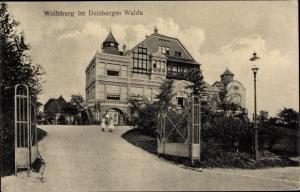 Ak Duisburg im Ruhrgebiet, Wolfsburg im Duisburger Walde