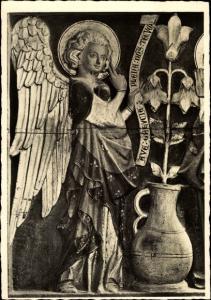 Ak Cismar Grömitz in Ostholstein, Engel aus dem Altar um 1320