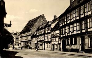 Ak Halberstadt in Sachsen Anhalt, An der Vogtei