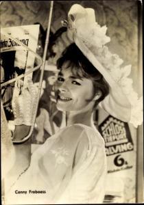Ak Schauspielerin Conny Froboess, Rheinsberg