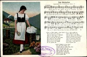Lied Ak Das Waisenkind, erzgebirgische Mundart, H. Mückenberger