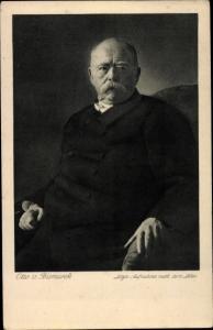 Ak Fürst Otto von Bismarck, Portrait