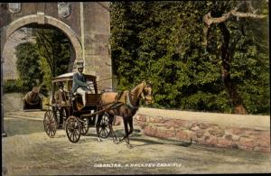Ak Gibraltar, A Hackney Carriage