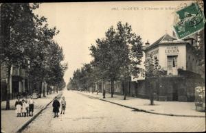 Saint Ouen Seine Seine Saint Denis, L'Avenue de la Gare