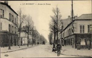 Ak Le Bourget Seine Saint Denis, Avenue de Drancy