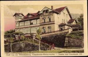Ak Dresden Cossebaude, Wilhelmsburg