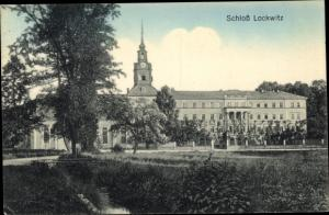 Ak Dresden Südost Lockwitz, Schloss
