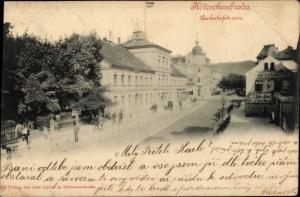 Ak Kötzschenbroda Radebeul in Sachsen, Bahnhofstraße
