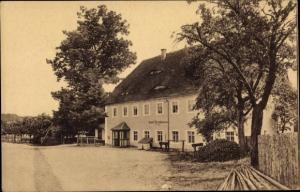 Ak Spechtshausen Tharandt Sachsen, Gasthof