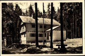 Ak Braunlage im Oberharz, Erholungsheim Fliegerschule Braunschweig