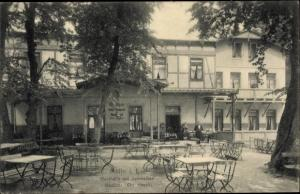 Ak Mölln im Herzogtum Lauenburg, Waldhalle, Schmalsee