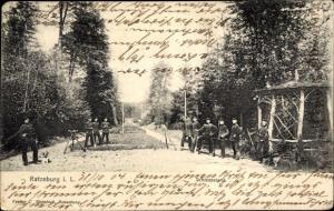 Ak Ratzeburg im Herzogtum Lauenburg, Schießstand