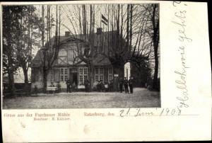Ak Ratzeburg im Herzogtum Lauenburg, Farchauer Mühle