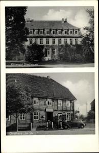 Ak Bisperode Coppenbrügge in Niedersachsen, Rittergut Diedersen, Gasthaus im Stern