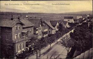 Ak Bad Rothenfelde am Teutoburger Wald, Osnabrücker Straße