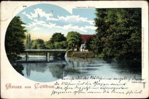 Litho Cottbus in Brandenburg, Sandower Brücke