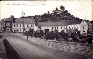 Ak Daun in der Eifel Rheinland Pfalz, Hotel Eifeler Hof