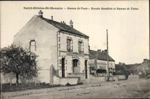 Ak Saint Hilaire Saint Mesmin Loiret, Bureau de Poste, Recette Buraliste, Bureau de Tabac