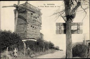 Ak Sannois Val d'Oise, Le Vieux Moulin detant de 1625