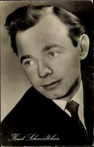 Ak Schauspieler Kurt Schmidtchen