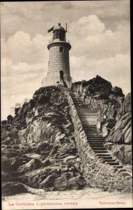 Ak Kanalinsel Jersey, La Corbiere Lighthouse