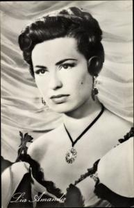 Ak Schauspielerin Lia Amanda, Der Graf v. Monte Christo