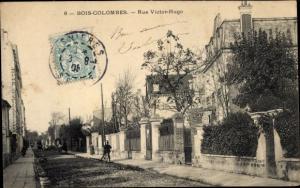 Ak Bois Colombes Hauts de Seine, Rue Victor Hugo