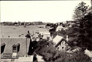 Ak Sydney Australien, from Lavender Bay