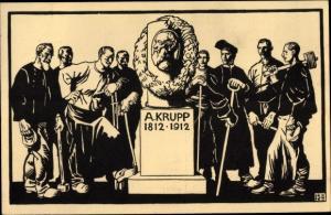 Künstler Ak Essen im Ruhrgebiet, A. Krupp, Hundertjahrfeier