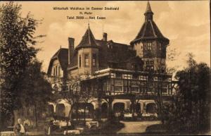Ak Essen im Ruhrgebiet, Waldhaus im Essener Stadtwald