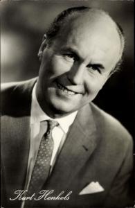 Ak Schauspieler Kurt Henkels