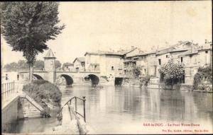 Ak Bar le Duc Lothringen Meuse, Le Pont Notre Dame