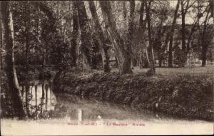 Ak Maule Yvelines, La Mauldre Riviere