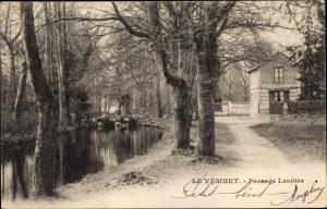 Ak Le Vésinet Yvelines, Passage Lenotre